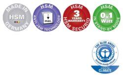 HSM SECURIO B35 1x5 mm Skartovací stroj(SK01039)