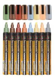 Sada 8 středních popisovačů, šířka hrotu 2-6 mm, různé přírodní barvy(SMA510-V8-ET)