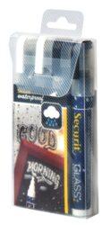 Silný voděodolný popisovač, šířka hrotu 2 - 6 mm / 4 ks v balení, 2xWhite, 2xBlk(SMA610-V4-BW)