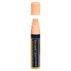 Silný popisovač, šířka hrotu 7-15 mm, oranžová