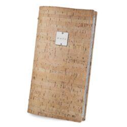Jídelní lístek DAG Style, formát 4RE, kovový štítek, Natural Cork