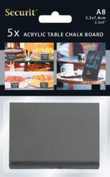 Stolní jednostranné popisovací tabulky Vertical L, A8,5ks(TBA-BL-A8)