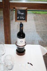 Stojan na lahev s tabulkou(WB-WR-1)