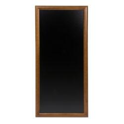 Nástěnná popisovací tabule LONG 56x120 cm, tmavě hnědá