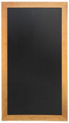 Nástěnná popisovací tabule LONG 56x100 cm, teak