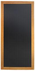 Nástěnná popisovací tabule LONG 56x120 cm, teak