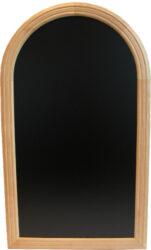 Nástěnná popisovací tabule RONDO 50x35 cm, přírodní dřevo doprodej