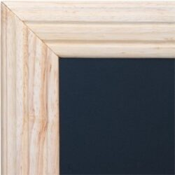 Nástěnná popisovací tabule UNIVERSAL, 70x90 cm, přírodní dřevo - doprodej(WBU-B-70)