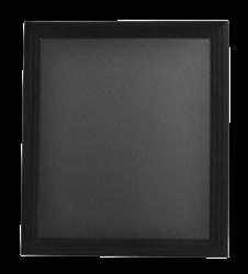 Nástěnná popisovací tabule UNIVERSAL, 40x50 cm, černá