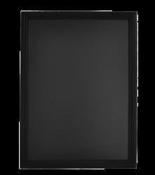 Nástěnná popisovací tabule UNIVERSAL, 60x80 cm, černá