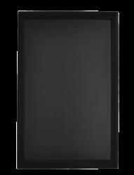 Nástěnná popisovací tabule UNIVERSAL, 70x90 cm, černá