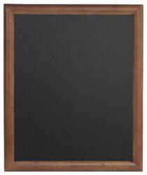 Nástěnná popisovací tabule UNIVERSAL, 50x60 cm, tmavě hnědá