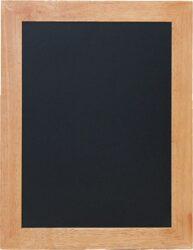Nástěnná popisovací tabule UNIVERSAL, 40x50 cm, teak