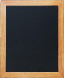 Nástěnná popisovací tabule UNIVERSAL, 50x60 cm, teak