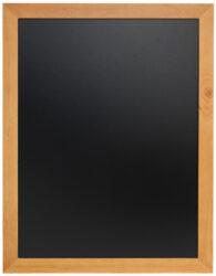 Nástěnná popisovací tabule UNIVERSAL, 70x90 cm, teak