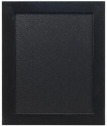 Nástěnná popisovací tabule WOODY s popisovačem, 20x24 cm, černá