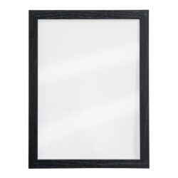 Nást.tab.se skleněnou oboustr.popis.plochou,černý rám,1xbílý+1xčerný popis.40x30-Popisovací tabule WOODY TRANSPARENT
