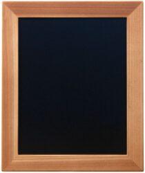Nástěnná popisovací tabule WOODY s popisovačem, 20x24 cm, teak