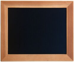 Nástěnná popisovací tabule WOODY s popisovačem, 20x24 cm, teak(WBW-TE-20-24)