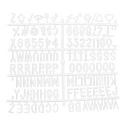 Přídavné písmena, čísla a znaky k tabulím s nasazovacímí písmeny