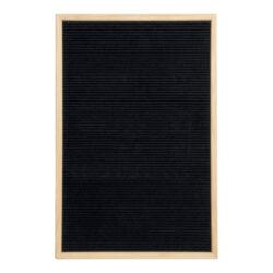 Nasouvací tabulka 40x60cm s dřevěným rámečkem a 360 plast.písmeny,čísly a symb.