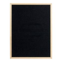 Nasouvací tabulka 60x80cm s dřevěným rámečkem a 360 plast.písmeny,čísly a symb.